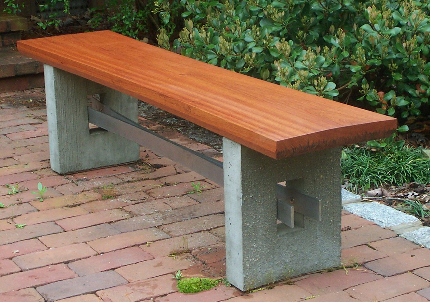 Picture of: Beautiful Wooden Bench Design