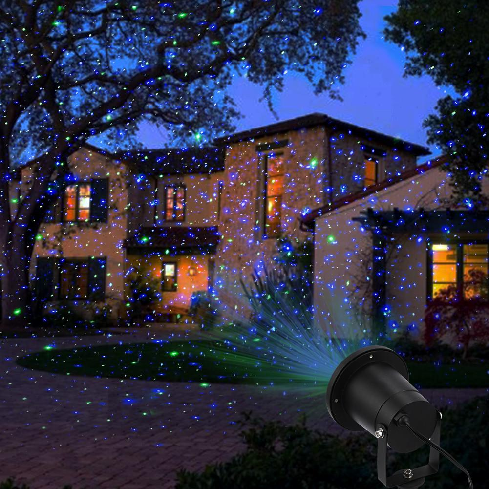 Picture of: Beauty Outdoor Christmas Laser Lights