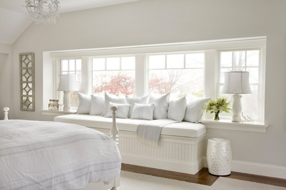 Image of: Bedroom Window Bench Cushions