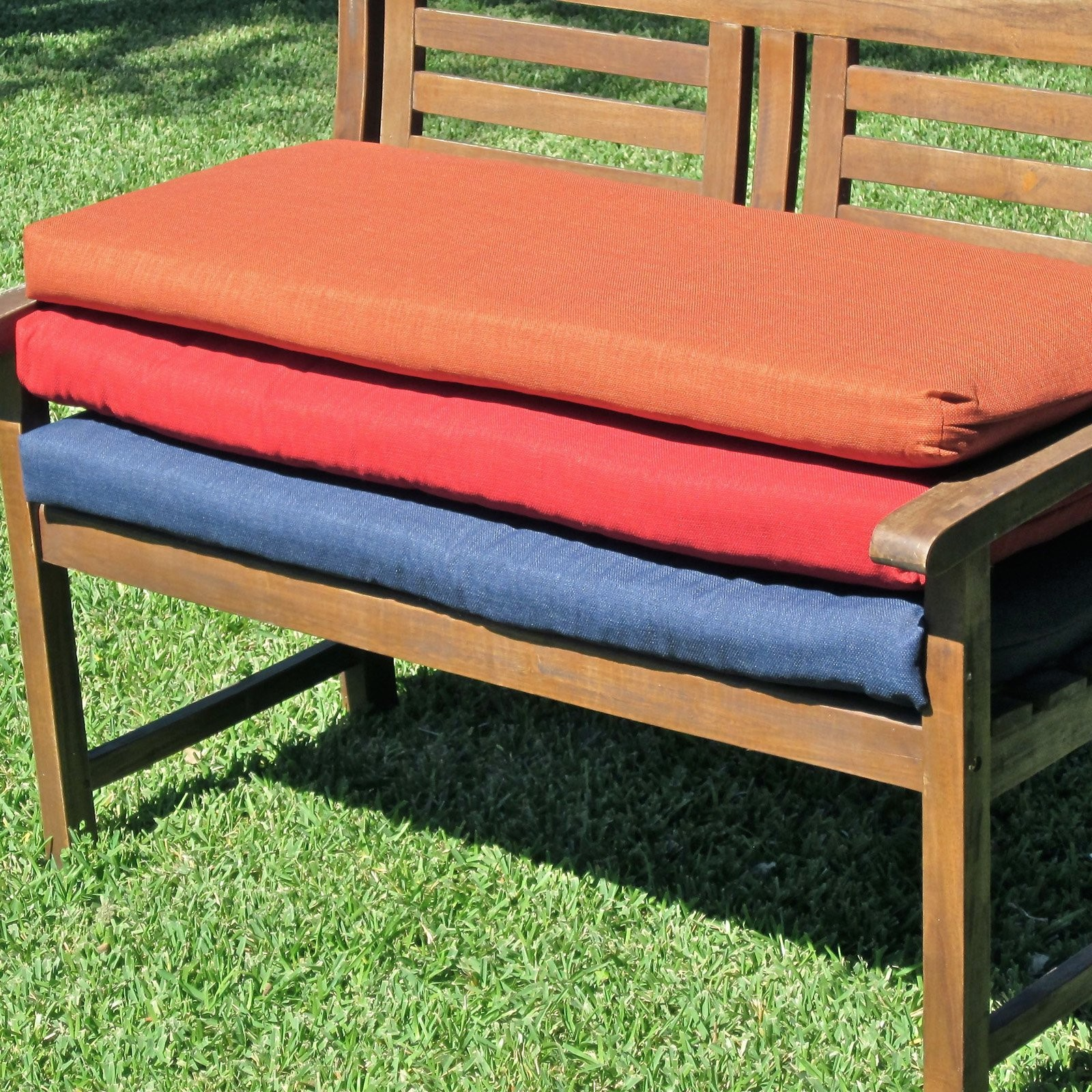 Image of: Bench Cushions Ikea Color