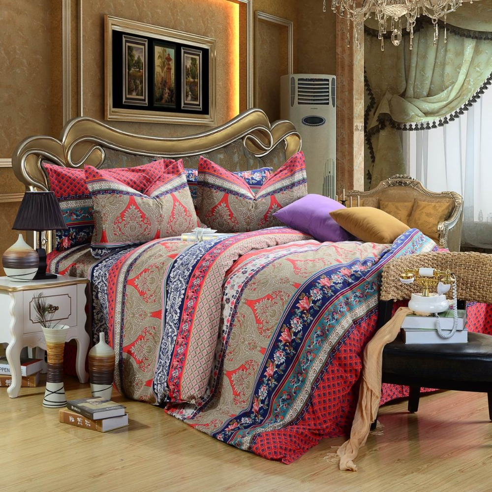 Image of: Best Bohemian Comforter Sets