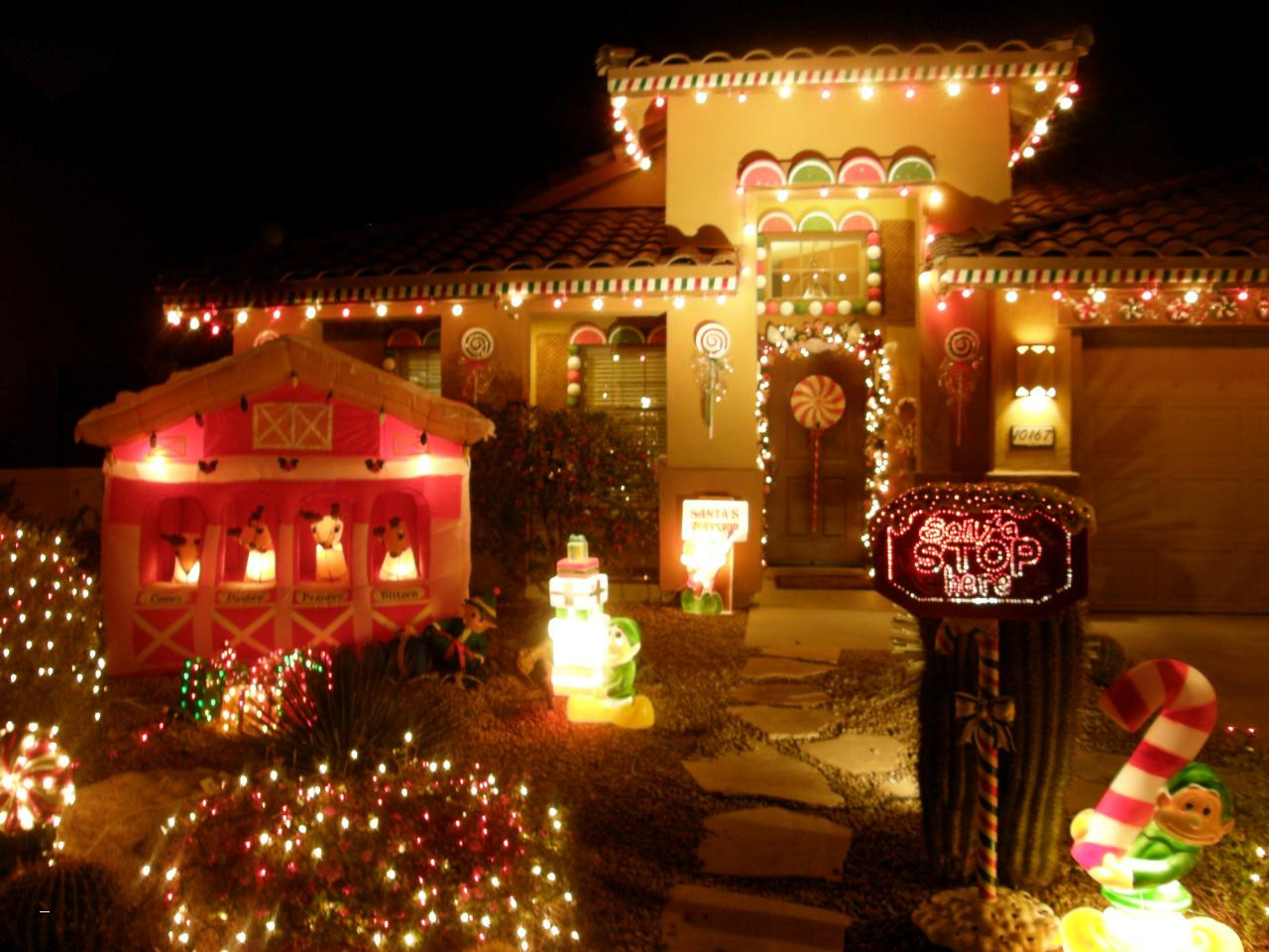 Best Outdoor LED Christmas Lights Color Changing