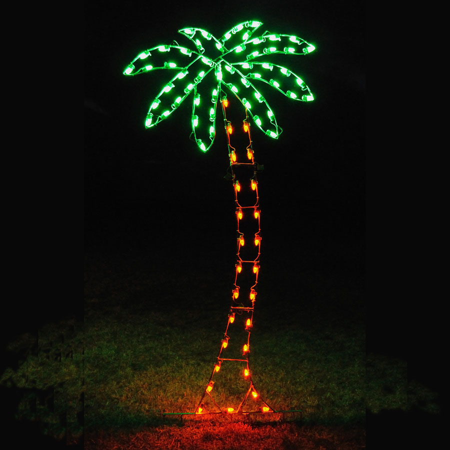 Picture of: Best Outdoor Lighted Palm Tree