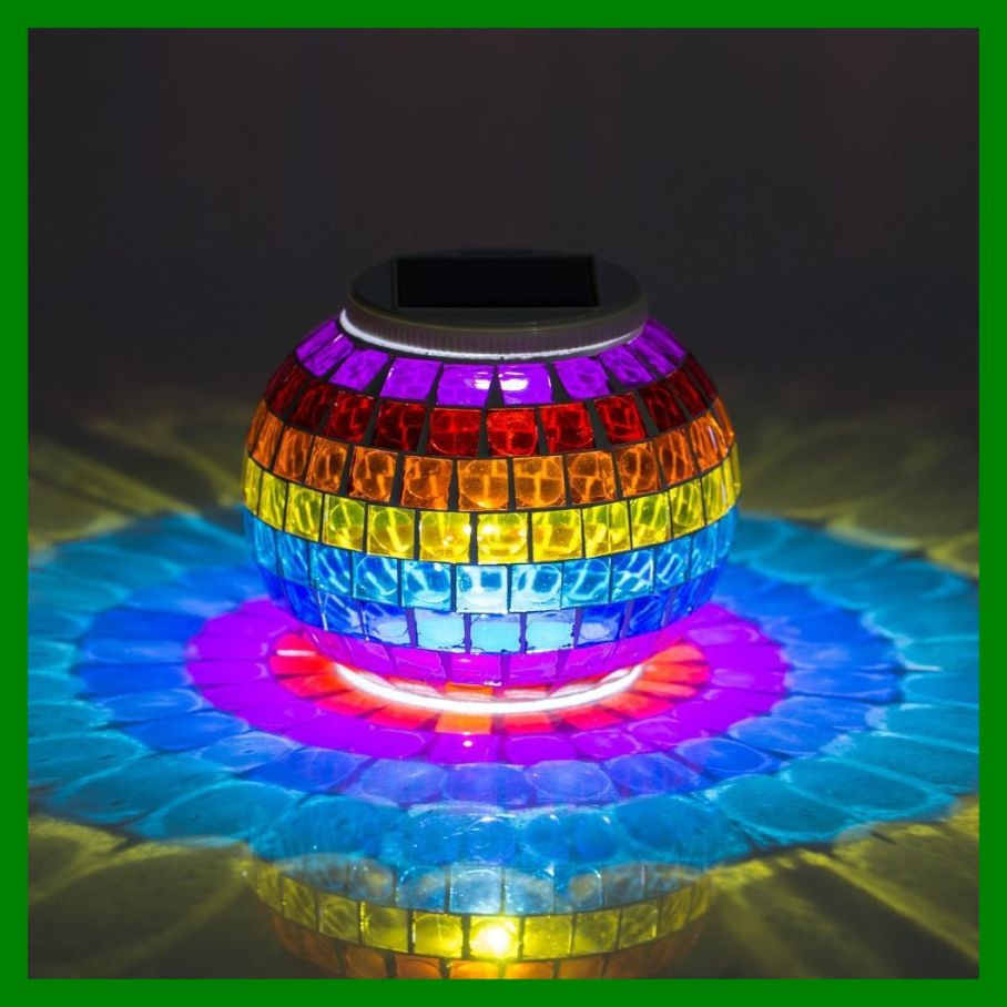 Perfect Outdoor Solar Table Lamp