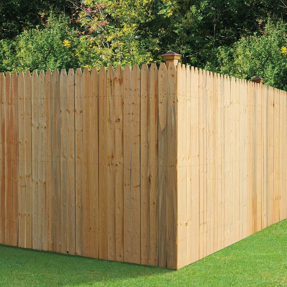 Picture of: Best Stockade Fence Panels