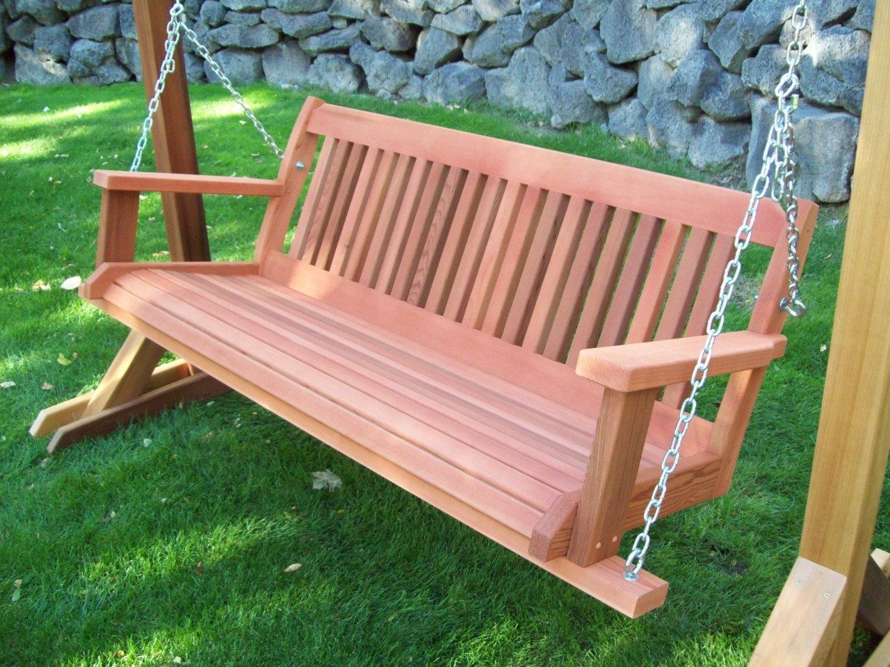 Picture of: Best Wooden Bench Swing