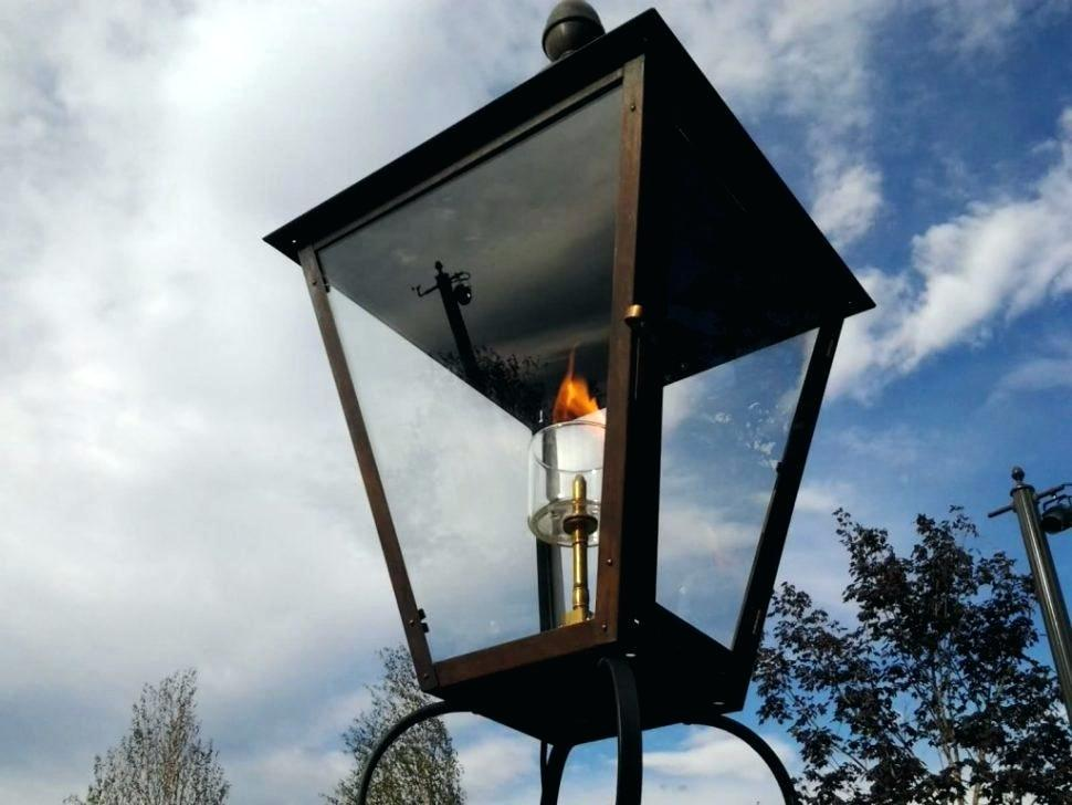 Suitable Choice An Outdoor Gas Lights