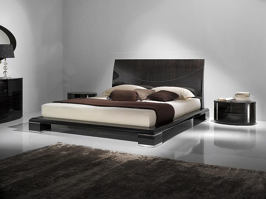Black Contemporary Bedroom Sets