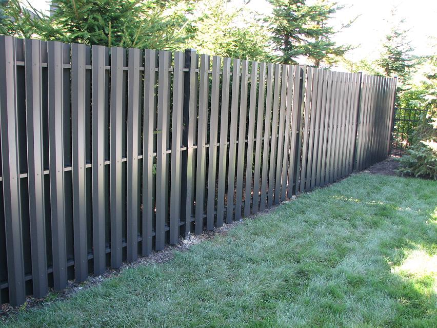 Fully Guarded Metal Privacy Fence Panels