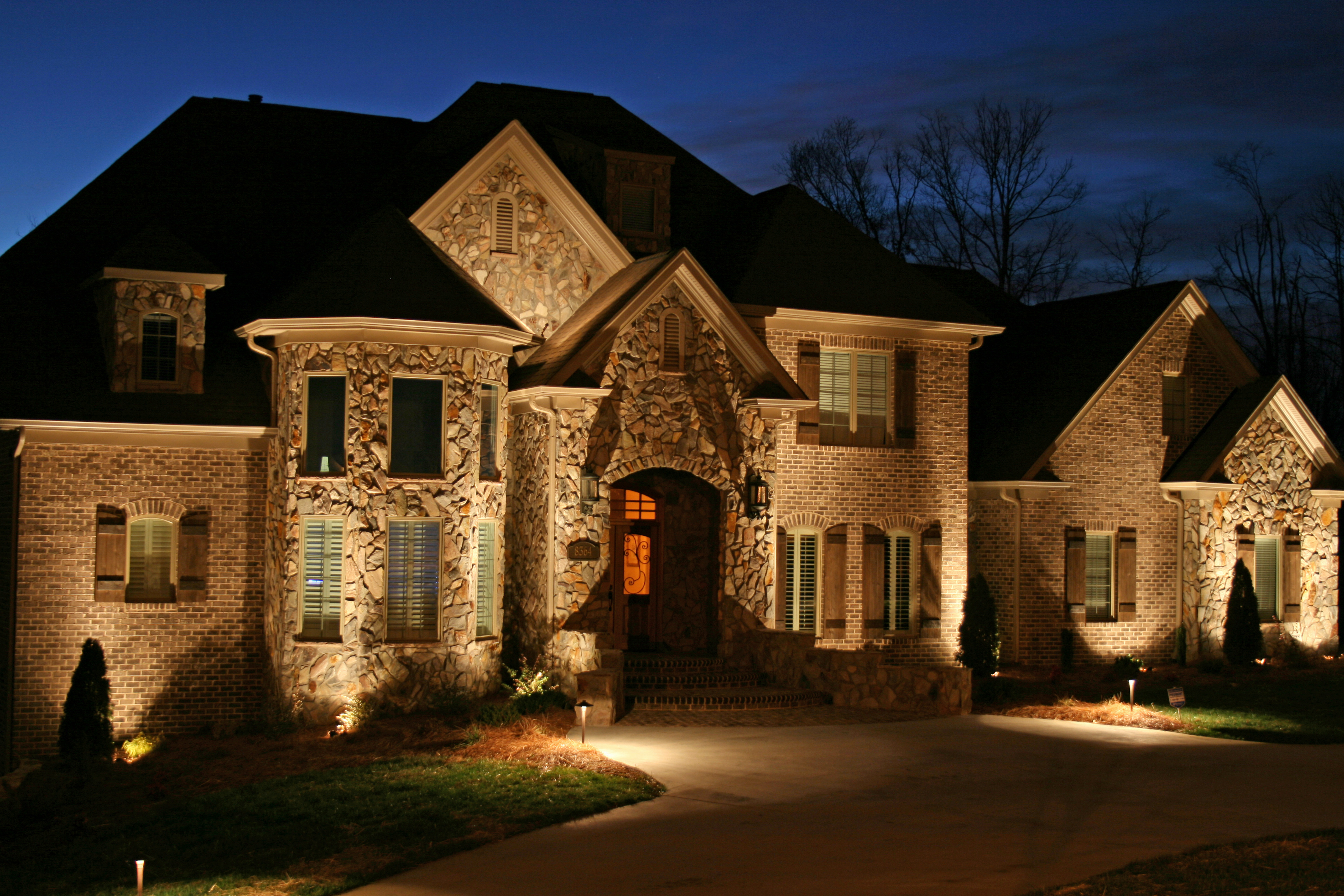 Picture of: Black Outdoor Lights Copper