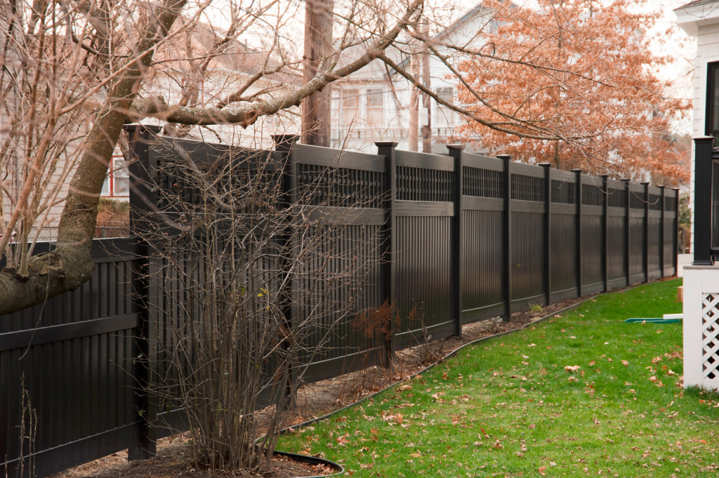 Picture of: Black Wood Fence Parts