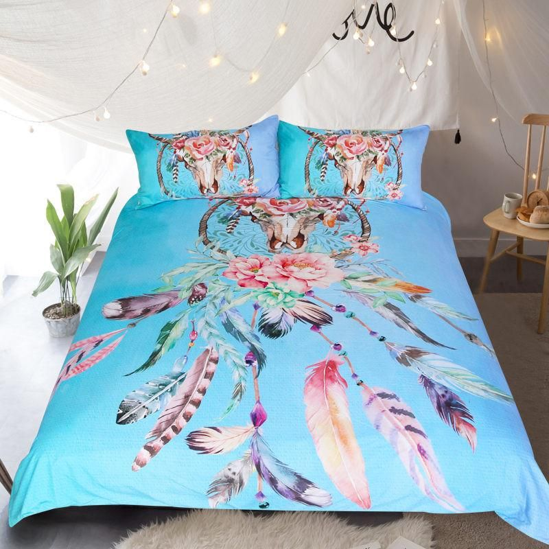 Blue Dreamcatcher Bedding Set
