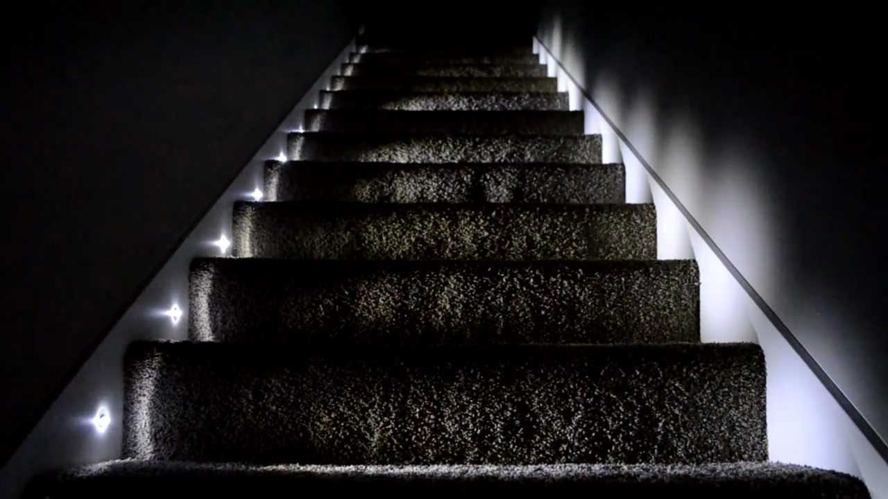 Picture of: Blue Led Step Lights
