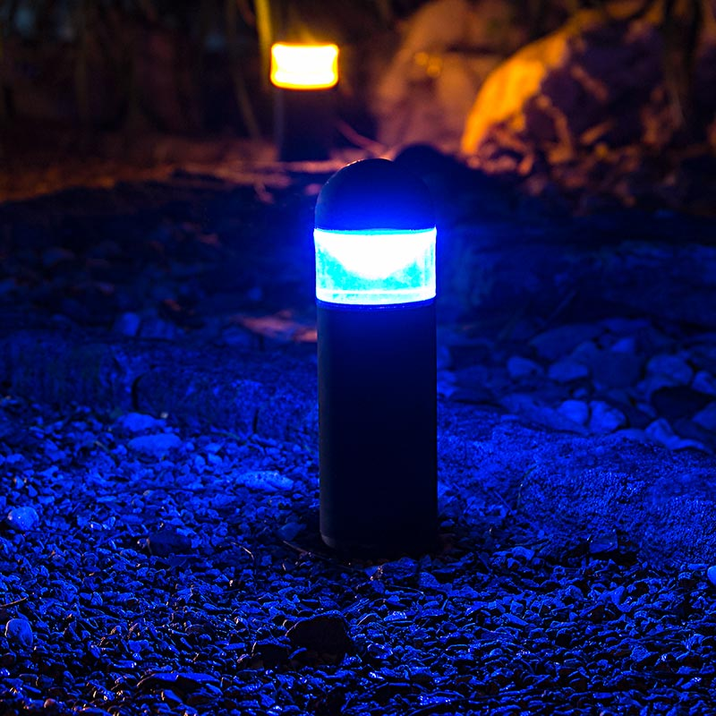 Blue Outdoor Led Lighting