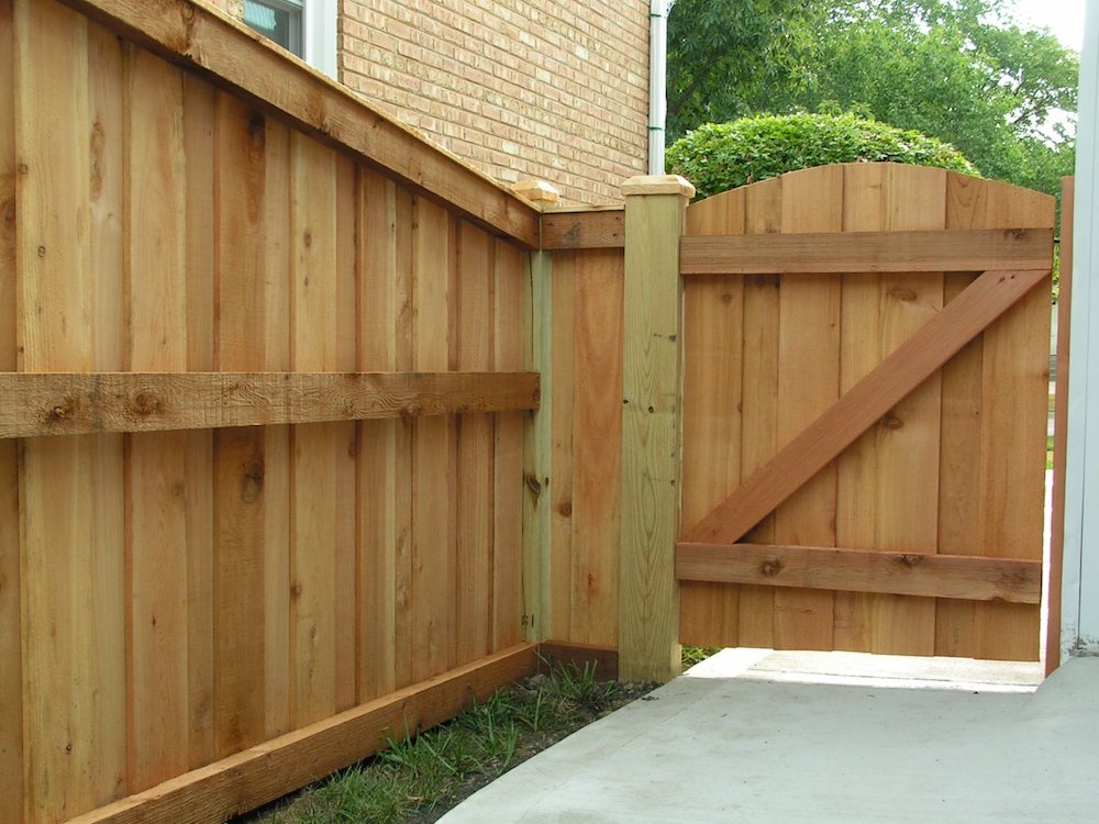 Picture of: Board On Board Fence Panels