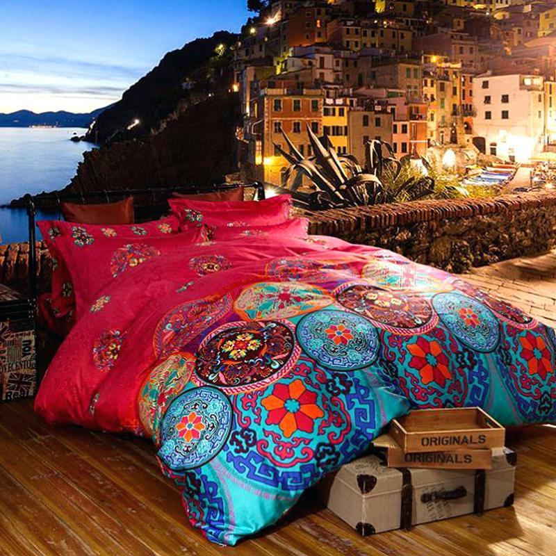 Image of: Bohemian Comforter Sets Ideas