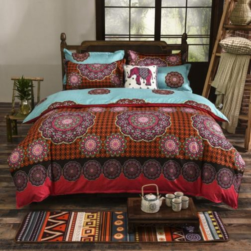 Image of: Bohemian Comforter Sets King