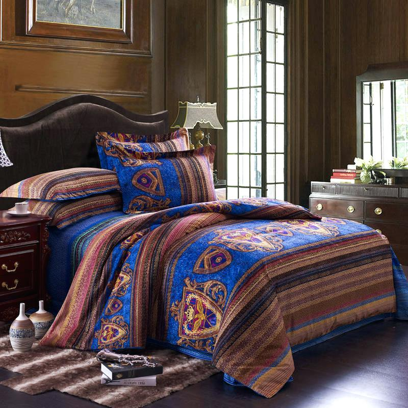 Image of: Bohemian Comforter Sets Queen