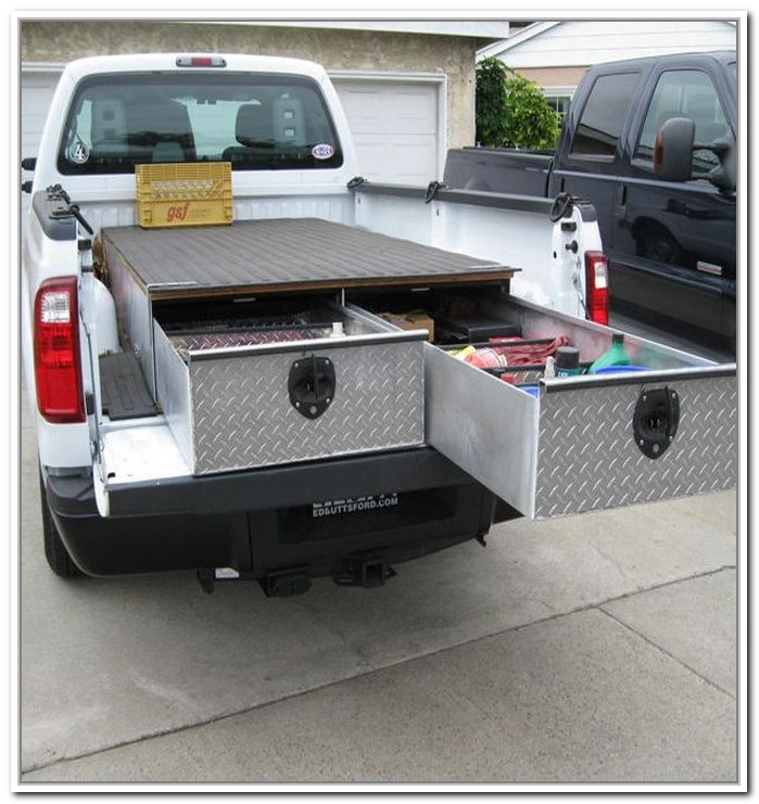 Image of: Boxes Truck Bed Storage Containers