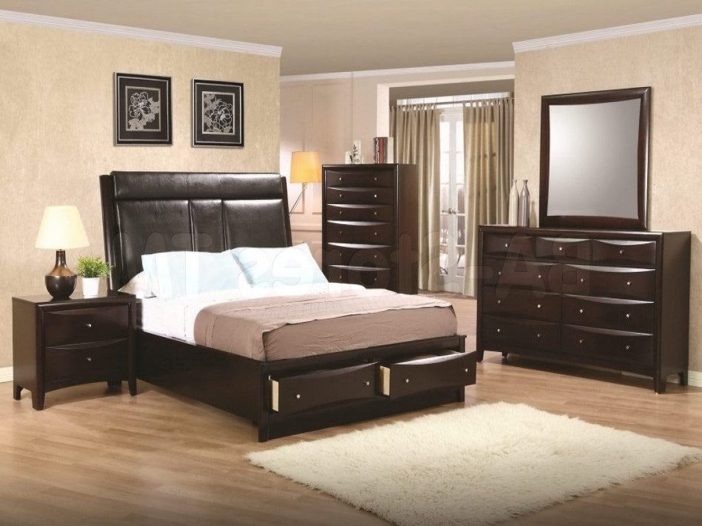 Image of: Brown City Furniture Bedroom Sets