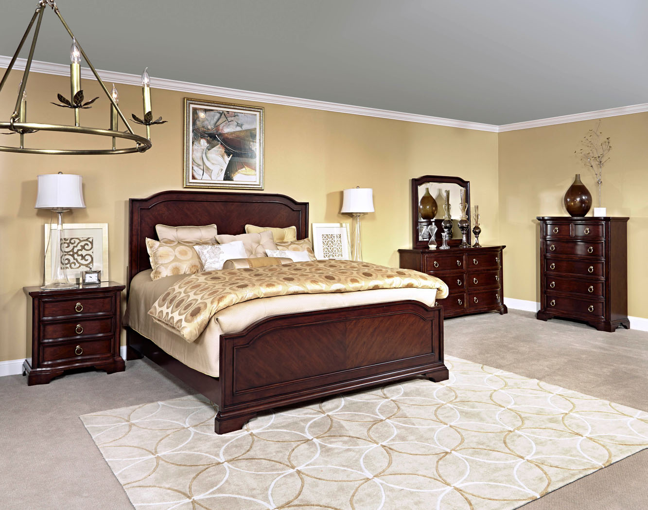 Broyhill Bedroom Set Cherry
