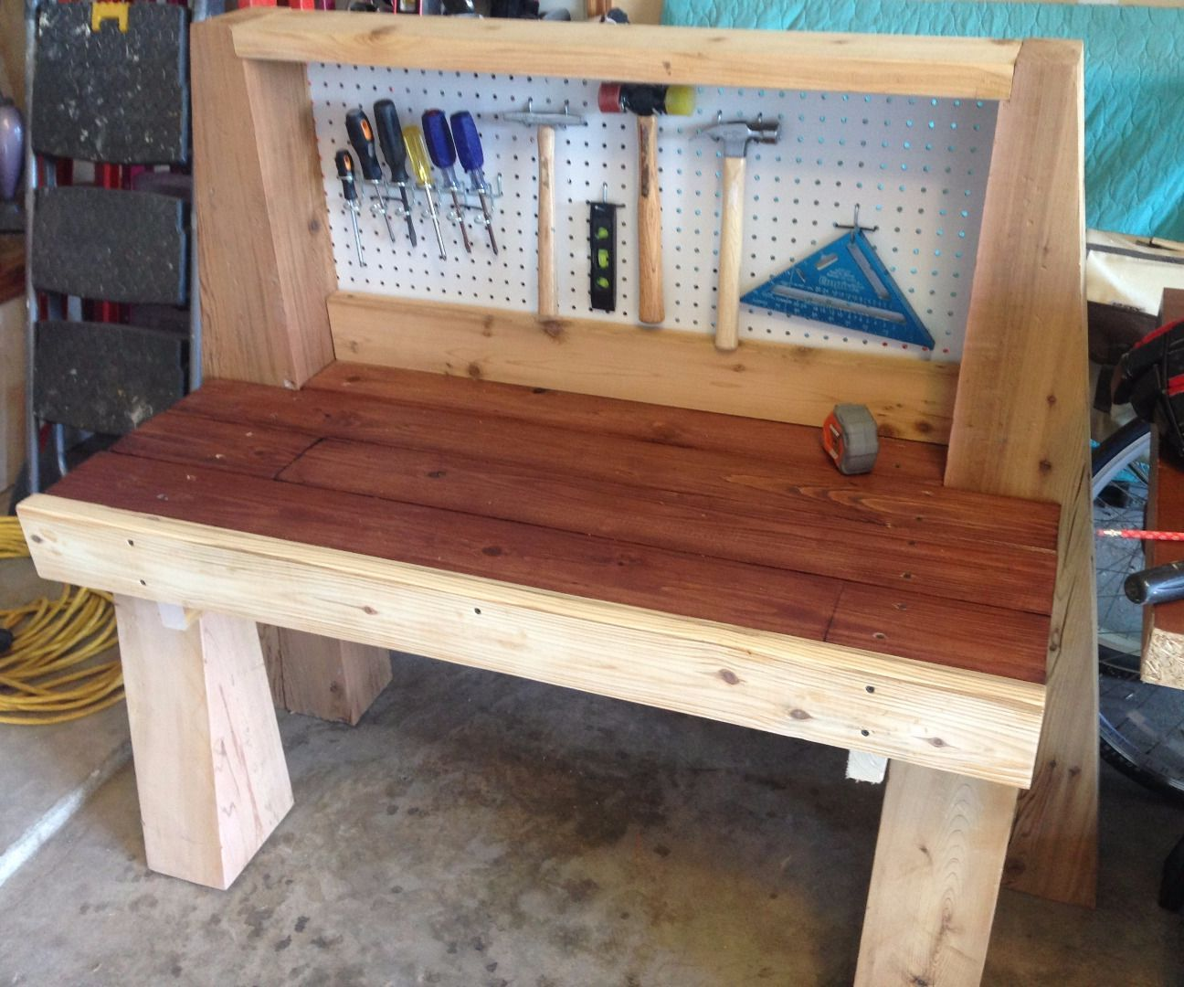 Build Kids Wooden Tool Bench