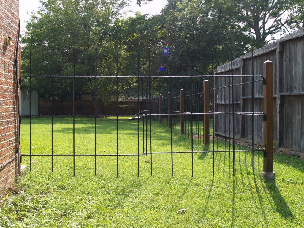 Image of: Build Metal Deer Fencing