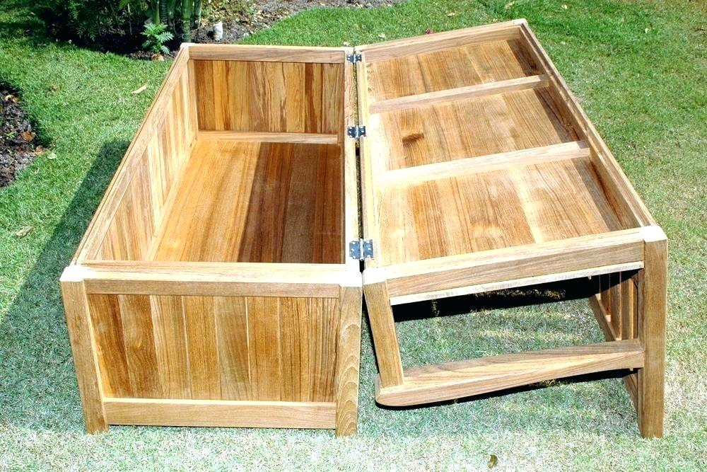 Picture of: Build Wooden Bench with Storage