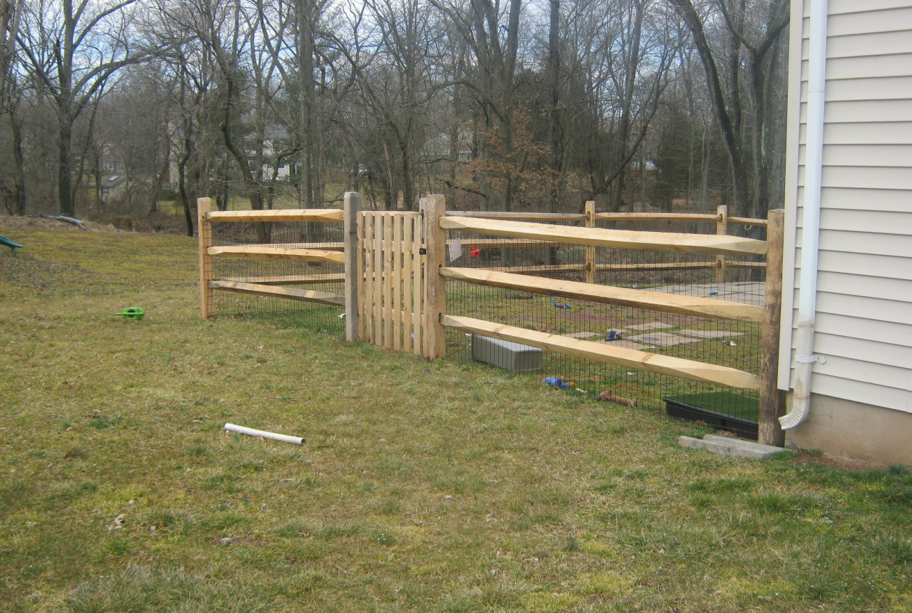 Picture of: Build Your Own Dog Fence Ideas