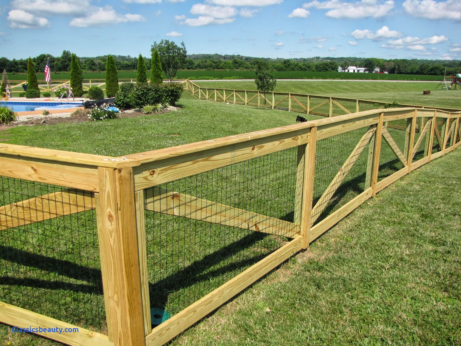 Picture of: Building a Small Dog Fence