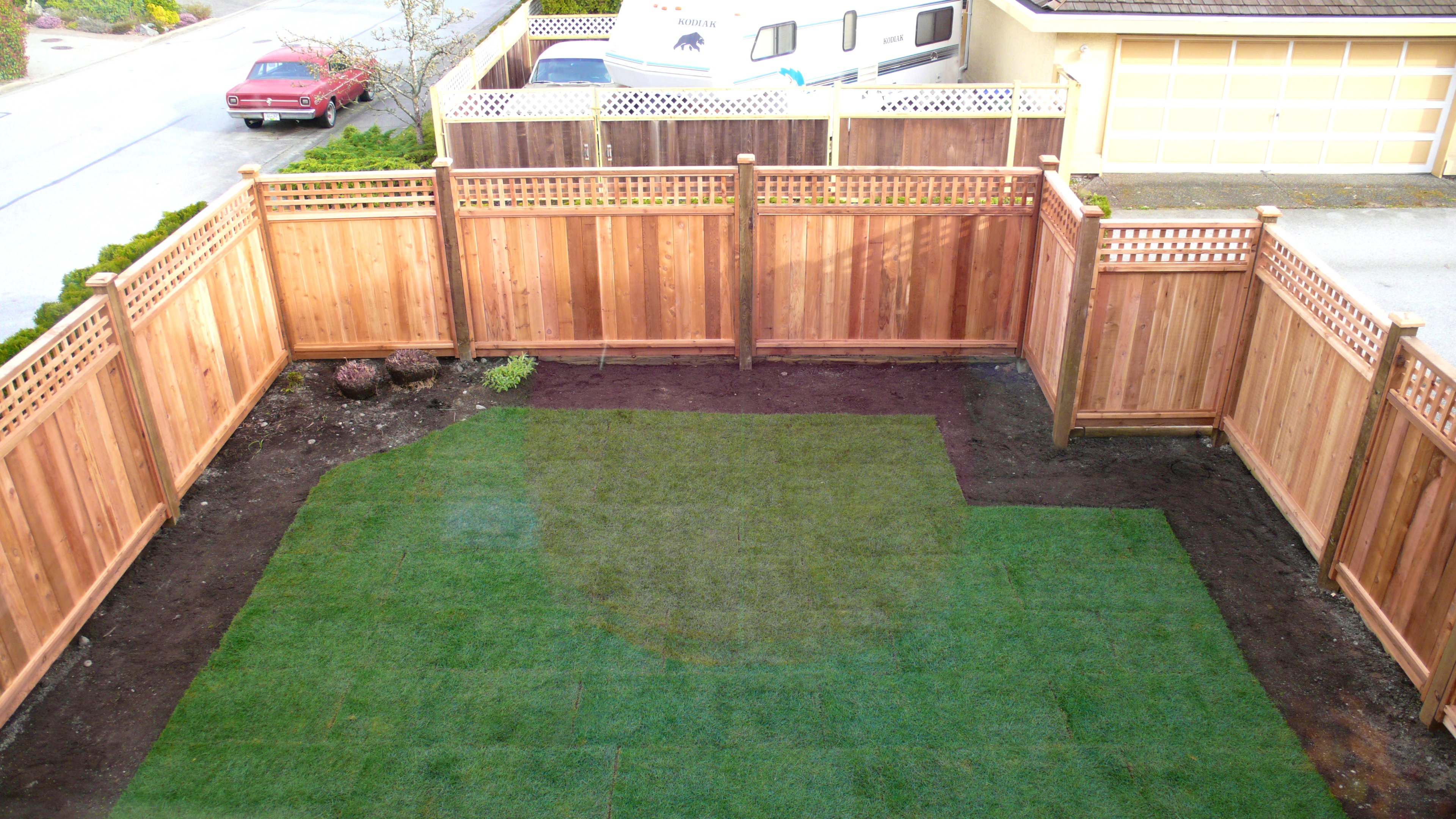 Picture of: Building a Wood Fence Panels