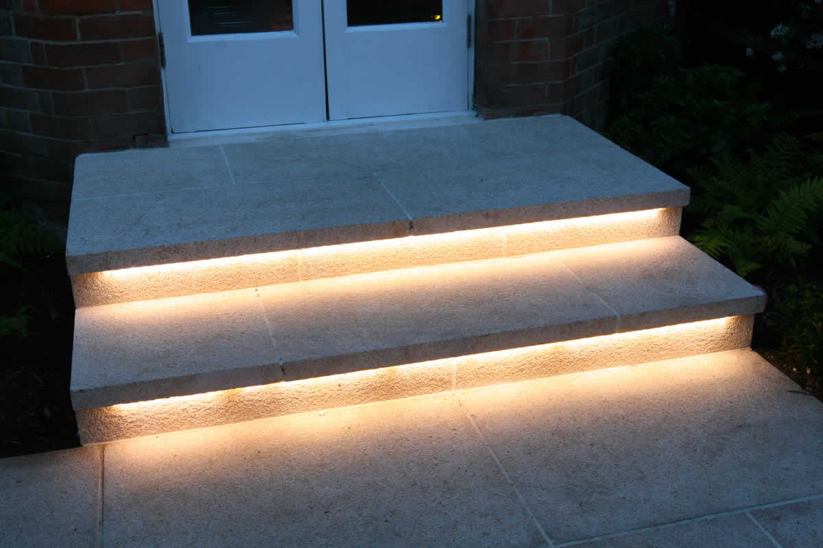 Picture of: Business Outdoor Sign Lighting