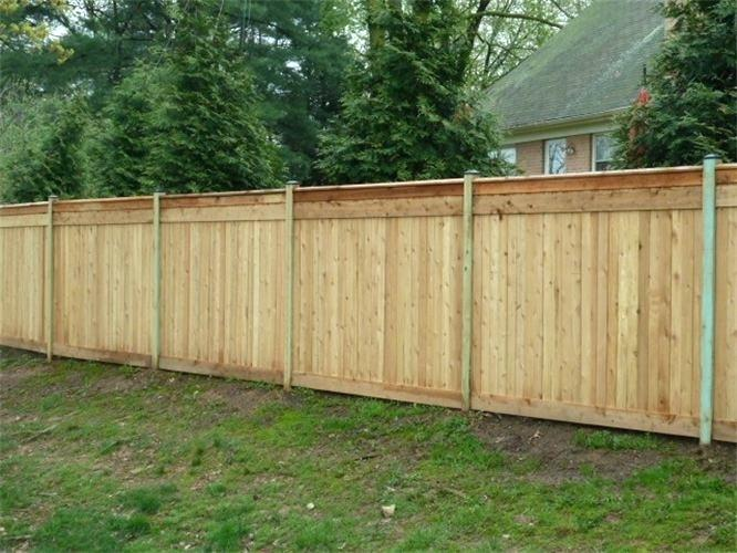 Picture of: Captivating Board On Board Fence Panels