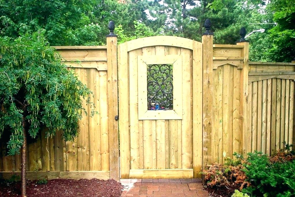 Picture of: Cedar Wood Fence Gate Designs