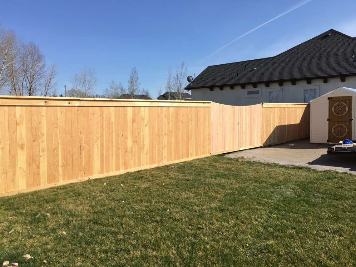 Picture of: Cedar Wood Fence Parts