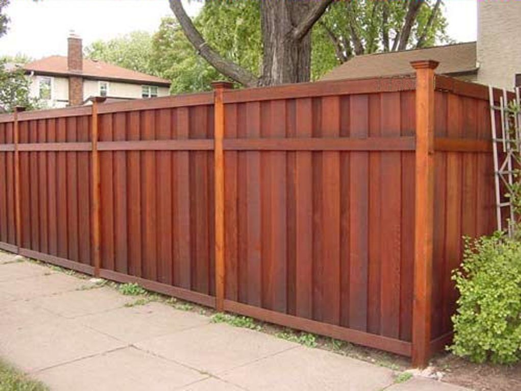 Picture of: Cedar Wood Fence Styles