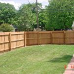 Cedar Wood Fence Yard
