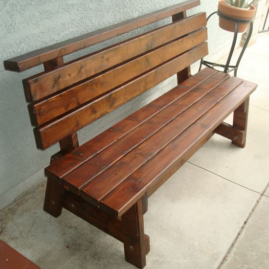 Picture of: Cedar Wooden Bench Seat
