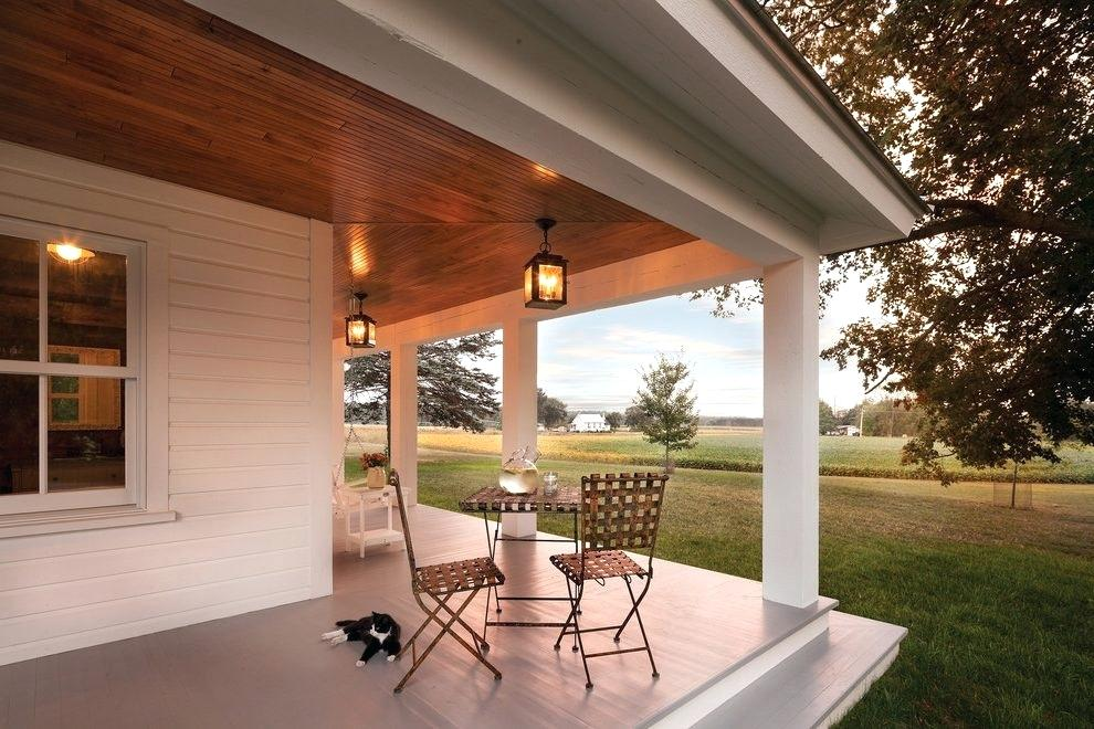 Picture of: Ceiling Craftsman Outdoor Lighting