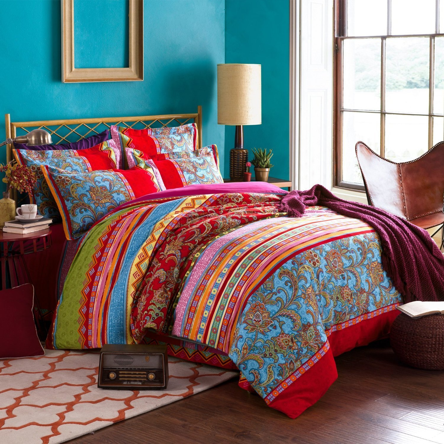 Picture of: Characteristic Bohemian Comforter Sets