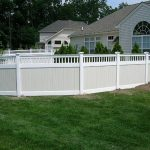 Cheap Vinyl Picket Fence Panels