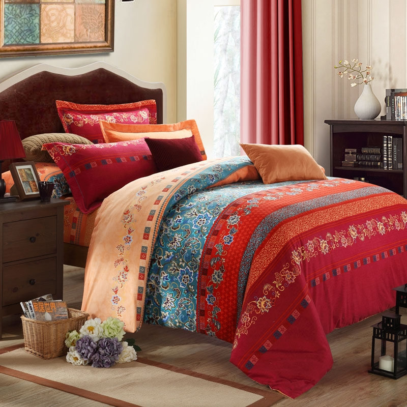 Image of: Cheerful Bohemian Comforter Sets