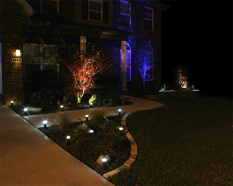 Picture of: Colored Outdoor Led Lighting