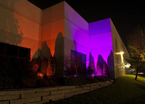 Picture of: Colorful Commercial Led Outdoor Lighting