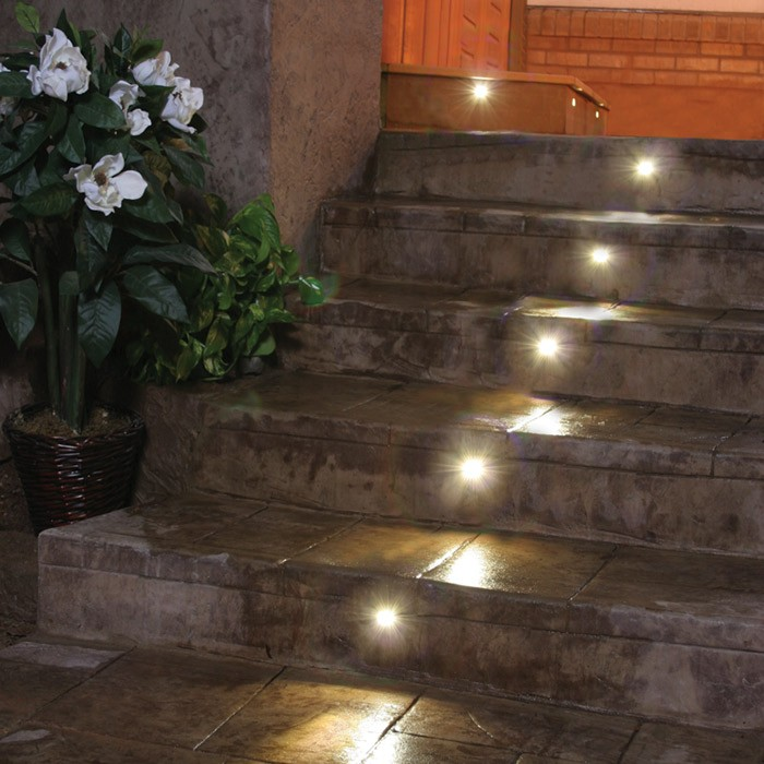 Picture of: Concrete Led Step Lights Outdoor