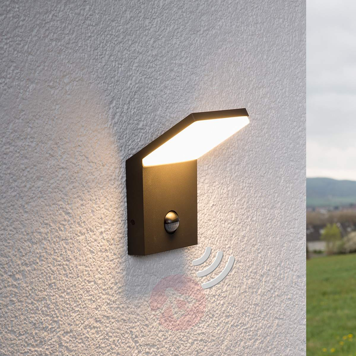 Picture of: Contemporary Outdoor LED Lamp