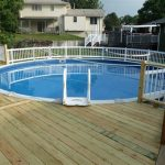 Cool Above Ground Pool Fence Ideas