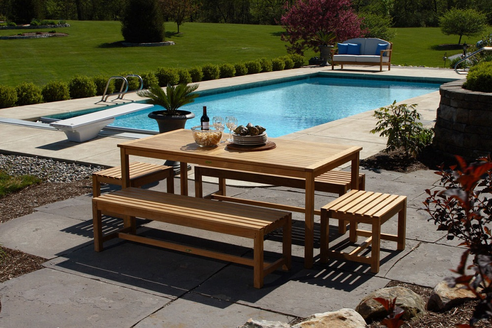 Picture of: Cool Wooden Benches For Outside