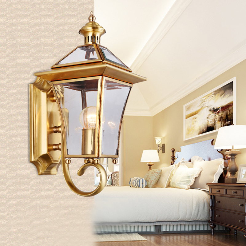 Picture of: Copper Outdoor Lighting Decor