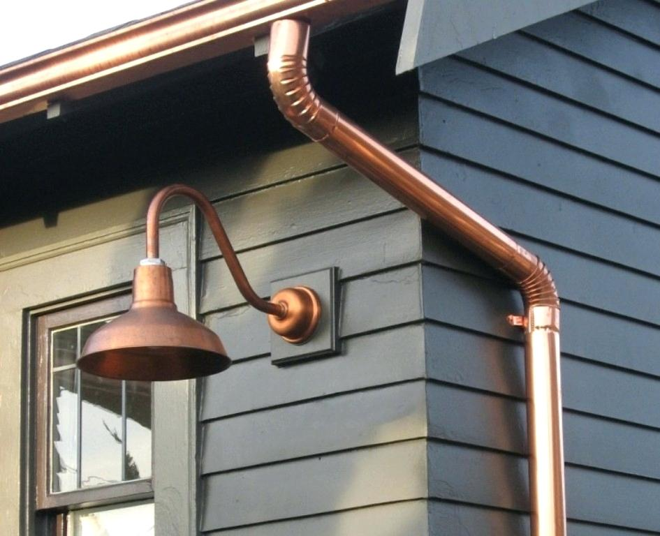 Picture of: Copper Outdoor Lighting Ideas